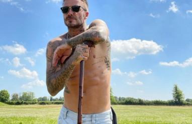 """Thói quen giúp rèn luyện thân hình """"chuẩn"""" của David Beckham ở tuổi 46"""