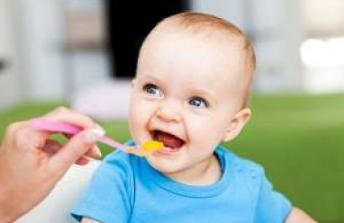 ăn dặm, cho con ăn dặm, bé ăn dặm, ăn thức ăn khô, đa dạng, đủ chát dinh dưỡng