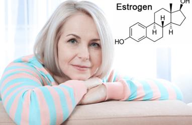 estrogen, tác dụng lên cơ quan sinh dục nữ, tác dụng lên xương khớp, tác dụng lên tuyến vú, phụ nữ mãn kinh, hoạt động của buồng trứng suy giảm, nồng độ hormon estrogen suy giảm