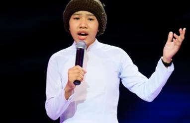 The Voice Kids, giọng hát Việt nhí, vòng giấu mặt, Mai Chí Công, Huyền Trân ,Đào Gia Phúc, huấn luyện viên