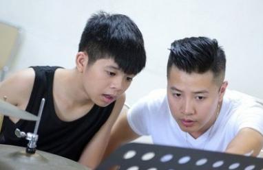 Quang Anh, The Voice Kids, Học viện âm nhạc, trúng tuyển , gành gõ Jazz