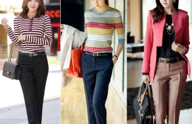 Quần tây, quần tây nữ, thời trang công sở, mix đồ, thời trang thu đông, xu hướng thời trang thu 2014