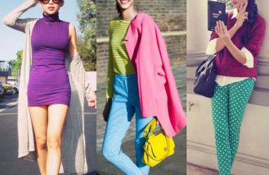 Áo len, phong cách thời trang, thời trang của sao, thời trang thu đông