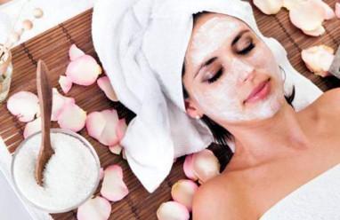 Đắp mặt nạ, nước hoa hồng, mặt nạ khử độc, chế độ ăn uống, kem dưỡng ẩm