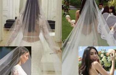 thủy tiên, công vinh, sao việt, đám cưới, váy cưới, chiếc váy cưới của thủy tiên