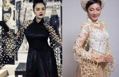 Sao việt, áo dài tiền tỷ, trang phục truyền thống, lý nhã kỳ, đặng thu thảo, trương thị may