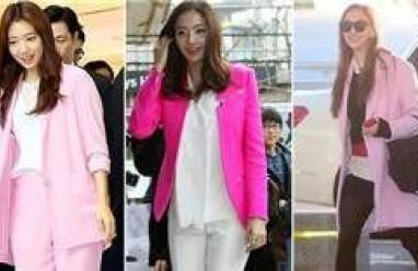 thời trang, làm đẹp, váy hồng, gam màu hồng, kiều nữ,sao hàn, sự kiện, nổi bật