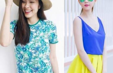 Tăng Thanh Hà, Ngọc Trinh khoe street style đầy màu sắc dưới nắng hè