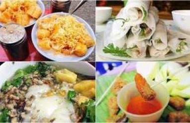 bún đậu mắm tôm, bún chả, cháo sườn, nem chua, nem chua rán, caramen, món ngon hà nội, ăn chơi ở đâu, khi đến hà nội ăn gì, khi đến hà nội quà vặt, món ăn vặt, ẩm thực đường phố