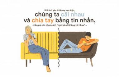 tình yêu, chia tay, tin nhắn, gặp mặt nói chuyện, cua so tinh yeu