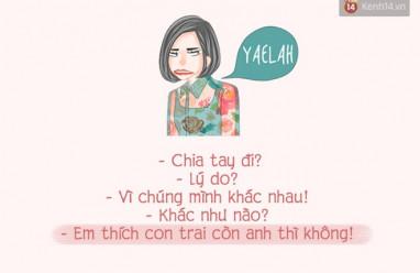 lý do chia tay, khôi hài, blog, cua so tinh yeu