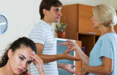 mẹ vợ con rể, mâu thuẫn, cãi vã, không thể dung hòa, muốn ly hôn, chán nản