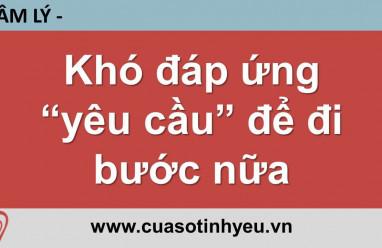 Khó đáp ứng yêu cầu để đi bước nữa - Nguyễn Thị Mùi
