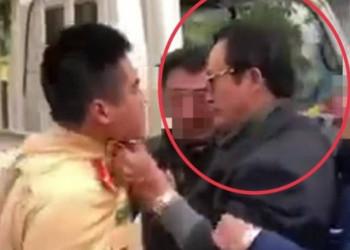 Chi cục trưởng say xỉn, tát CSGT Tuyên Quang