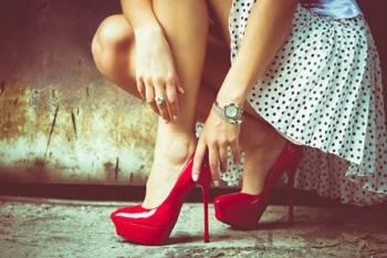 giày cao gót, mẹo đi giày cao,không đau chân, bí quyết