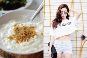 làm đẹp, giảm cân, dáng đẹp, bột thì là, sữa chua