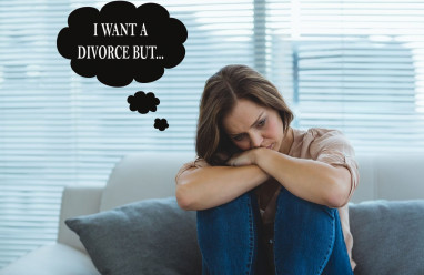 chồng cờ bạc, nợ nần chồng chất, muốn ly hôn, sợ xấu mặt, sợ con cái khổ