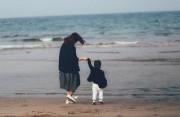 em gái, nuôi con một mình, mẹ đơn thân, con hỏi bố, trả lời bố là ai