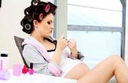 làm tóc, nhuộm tóc, thai được hơn 12 tuần, làm đẹp, ảnh hưởng đến thai, cuasotinhyeu