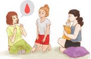 rối loạn kinh nguyệt, echo trống, asumate 20, thuốc tránh thai hàng ngày, ra dịch có máu, viêm â.đ, viêm lộ tuyến tử cung, cuasotinhyeu