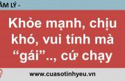 Khỏe mạnh chịu khó vui tính mà gái cứ chạy - CGTL Đinh Đoàn