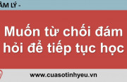 Muốn từ chối đám hỏi để tiếp tục học - Nguyễn Thị Mùi