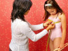 dậy thì sớm, ngực phát triển, bé gái, núm vú, lông mu, kinh nguyệt, vú phát triển sớm, cuasotinhyeu