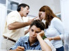 bố mẹ cãi vã, chứng kiến, buồn bã, chán nản, gia đình không hạnh phúc