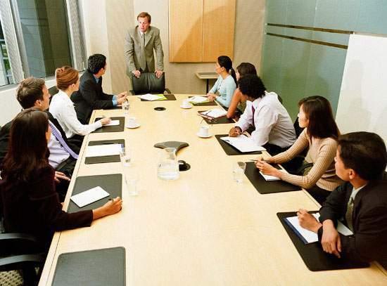 họp các bộ phận ngày thứ 7