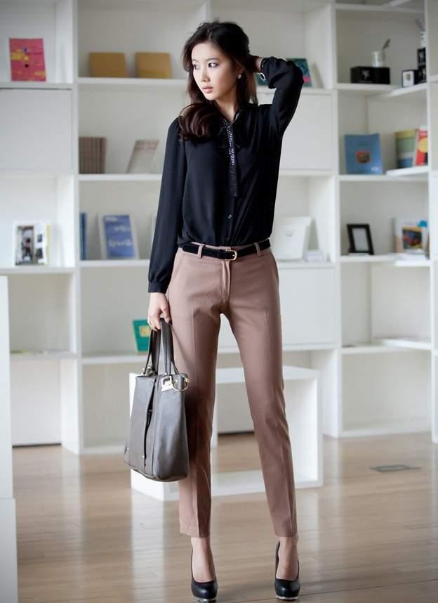 Chọn trang phục công sở cho phụ nữ trung niên