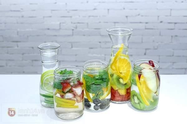 """Detox Water – thức uống giúp giảm cân """"hot"""" nhất trong mùa hè"""
